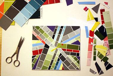 二届艾瑞 卡尔拼贴画创意展示